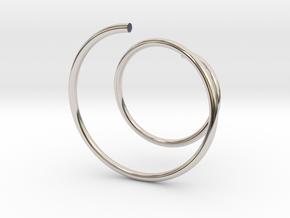 Glasscharm in Platinum