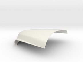 Merc Wagon Bonnet in White Natural Versatile Plastic