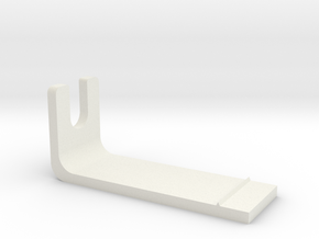 Pioneer Overhang Gauge V2.1 in White Natural Versatile Plastic