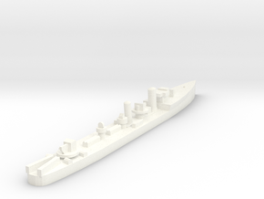 Admiralty S Destroyer (Std) 1:1800 in White Processed Versatile Plastic