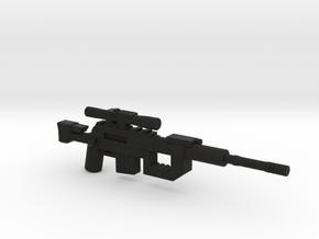 Intervention Sniper Rifle  in Black Natural Versatile Plastic