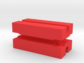 Fischertechnik in Red Processed Versatile Plastic