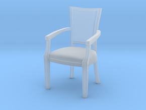 1:10 Scale Model - ArmChair 01 in Smooth Fine Detail Plastic