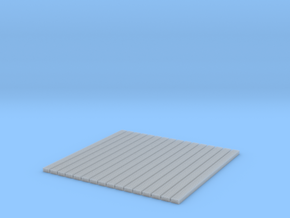 5 Hole Tie Plates - 1200 O scale in Frosted Ultra Detail