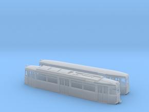 Gotha Großraumzug TW/BW-62 (1:120) in Smooth Fine Detail Plastic