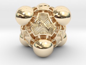 Nucleus D8 in 14K Yellow Gold