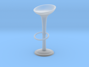 1:10 Scale Model - BarStool 01: in Smooth Fine Detail Plastic