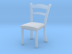 1:10 Scale Model - Chair 01 in Smooth Fine Detail Plastic