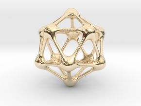 MetaBall in 14K Yellow Gold