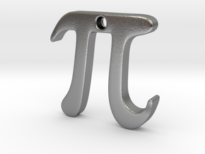 Pi in Natural Silver