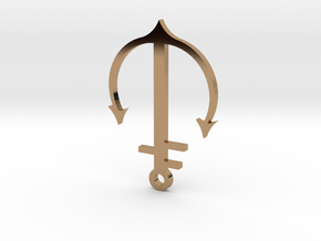 Brass Neck Anchor in Polished Brass
