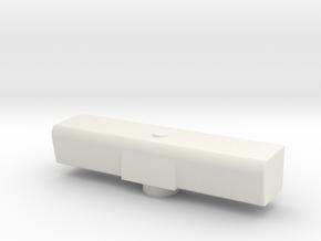 Radar  Uboot Dt. Marine Typ 212A oder Typ 206 1:32 in White Natural Versatile Plastic