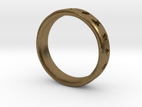 Pokemon Ring in Natural Bronze: 6 / 51.5