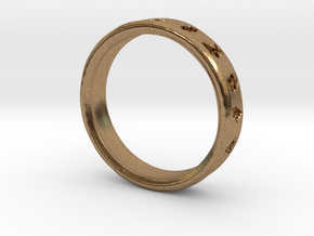 PokemonRing - Size 6 Test in Natural Brass