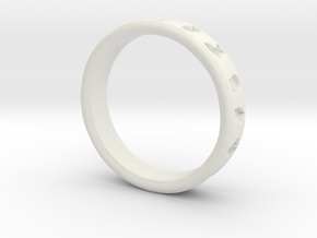 Pokemon Ring in White Natural Versatile Plastic: 6 / 51.5