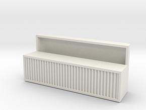 1:16 IH A/C Unit in White Natural Versatile Plastic
