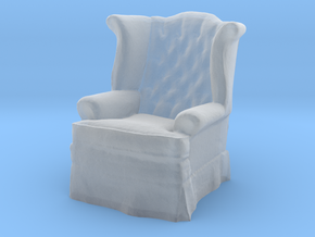 1:48 Tufted Chair in Smooth Fine Detail Plastic