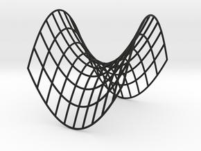 Hyperbolic Paraboloid in Black Strong & Flexible