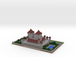Royal Palace by Zyph revision #1 in Full Color Sandstone