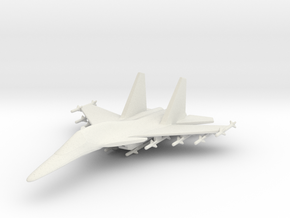 1/285 (6mm) SU-34 Aircraft in White Strong & Flexible