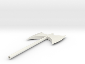 Executioner's Axe 2H in White Natural Versatile Plastic