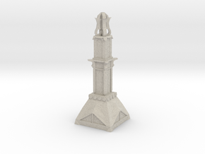 Temple Pillar in Sandstone