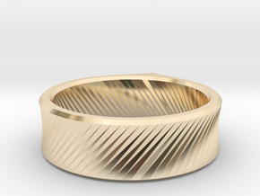 Q - Ring / Size 10 in 14K Yellow Gold