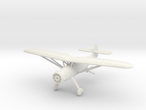1/144 Henschel Hs-126 in White Natural Versatile Plastic