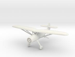 1/144 Henschel Hs-126 in White Natural Versatile Plastic