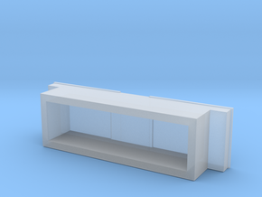 1:64 scale Pickup Tool Box  in Smooth Fine Detail Plastic