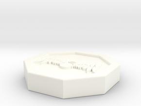 """Octogon - 1"""" Celestial in White Processed Versatile Plastic"""