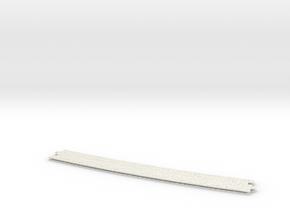 Pflaster Mitte R2  in White Natural Versatile Plastic
