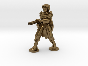 Adran, Elven Shotgun Ranger 1:36scale in Natural Bronze
