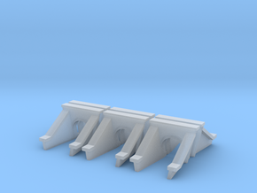 3 Foot Concrete Culvert HO Scale X 6 in Smooth Fine Detail Plastic