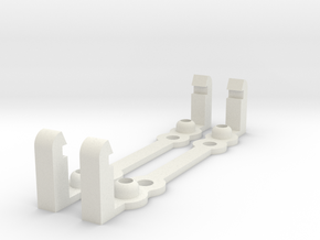 PI MOUNT 2pcs in White Natural Versatile Plastic