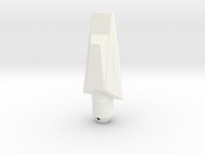 NC-20 (Downscale Orion/Manta) in White Processed Versatile Plastic