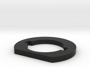 M-series Full Stock Washer in Black Natural Versatile Plastic