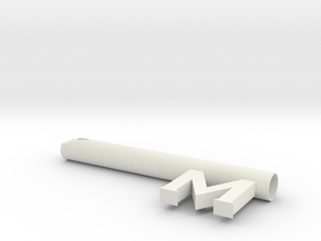 key stem for smallville metropolis key in White Natural Versatile Plastic