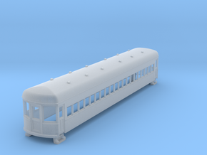 N gauge 55ft interurban coach arch roof 2 in Smooth Fine Detail Plastic