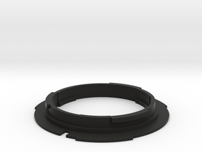 F mount lens to EF mount camera adapter  in Black Strong & Flexible
