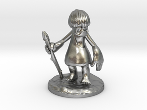 Urg full-color miniature statue in Natural Silver