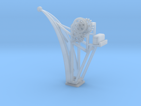 Cranes for loading goods H0/00 in Smooth Fine Detail Plastic