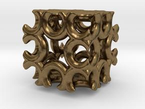 Incendia Ex Fractal Cube T58 in Natural Bronze