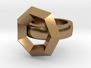 Build  A Ring Base Version 2  in Natural Brass