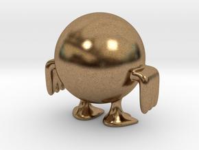 Weird chick in Natural Brass