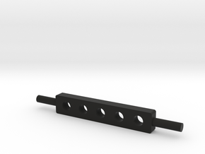 Drawbar 1/32 in Black Natural Versatile Plastic