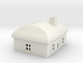 1/700 Villiage House 3 in White Natural Versatile Plastic