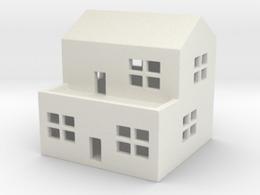 1/700 Town House 2 in White Natural Versatile Plastic