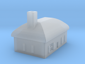 1/700 Villiage House 6 in Smooth Fine Detail Plastic