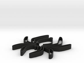 spinknoet in Black Strong & Flexible